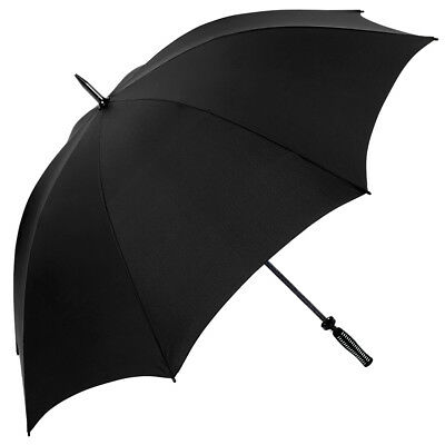 Quadra Polyester Windproof Frame Pro Golf Classic Rain Umbrella One Size UK
