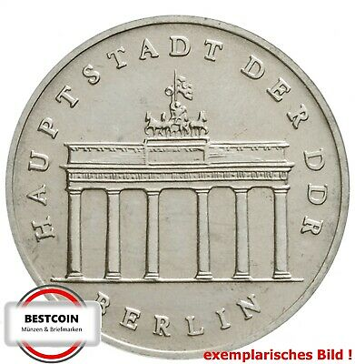 1536   5 Mark DDR Brandenburger Tor BBT  1987 in STG-  474014