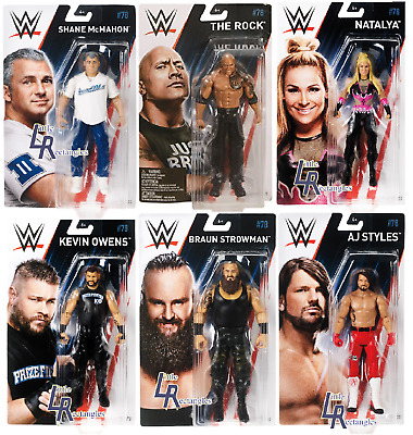 WWE Figures - Basic Series 78 - Mattel - Brand New - Sealed