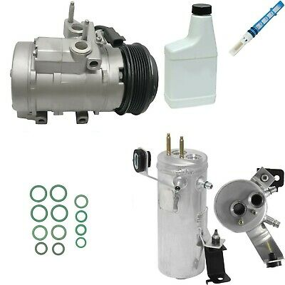 RYC Remanufactured Complete AC Compressor Kit GG542 With Rear AC