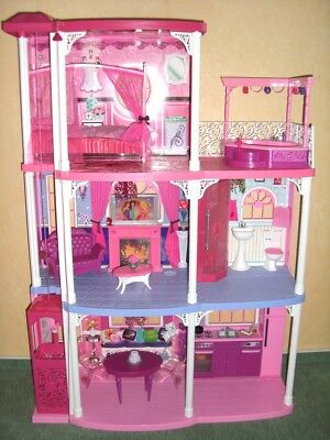 barbie haus traumvilla picclick de. Black Bedroom Furniture Sets. Home Design Ideas