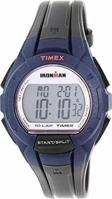 TIMEX Timex Mens Ironman Quartz Resin Watch, Color:Grey (Model: )