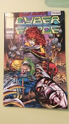 comics cyber force n°2