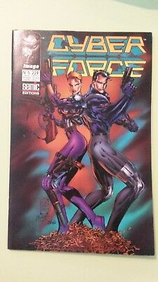 comics cyber force n°5