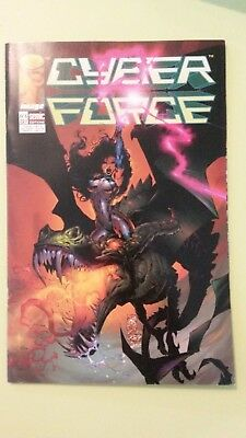 comics cyber force n°6