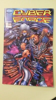 comics cyber force n°7