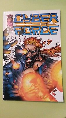 comics cyber force n°8