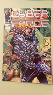 comics cyber force n°11