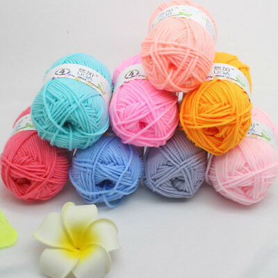 UGA NEW skein light worsted woven soft Milk Cotton yarn Hand Knitting wool Craft