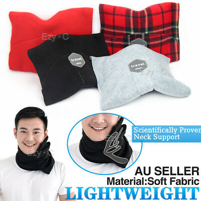 Portable Soft Comfortable Travel Pillow Proven Neck Support Sitting Nap Washable