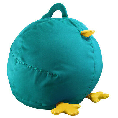 NEW Zuny Small Pica Bean Bag Cover - Turquoise/Yellow BEAN BAG COVERS