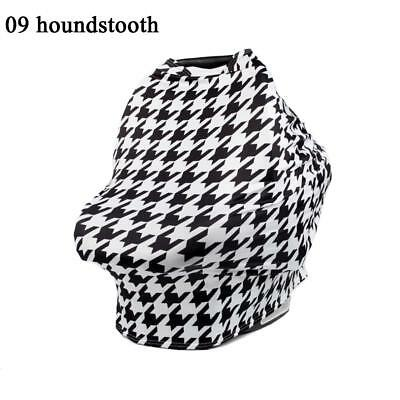 Nursing Scarf Cover Apron for Breastfeeding Baby Car Seat Canopy Maternity US @