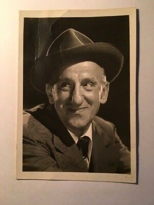 Jimmy Durante Early Vintage Autographed Photo