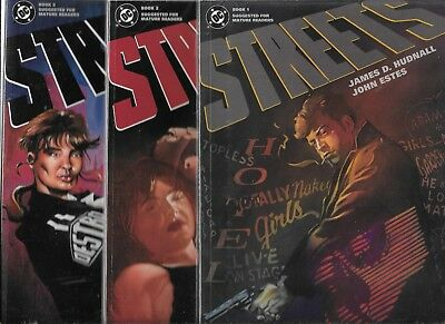 Streets #1-#3 Graphic Novels Set (Vf/Nm) Dc Comics