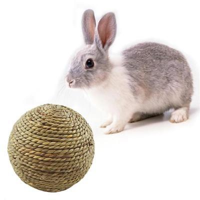 1pc Pet Chew Play Toy Grass Ball for Rabbit Hamster Guinea Pig Rat NEW - Y2