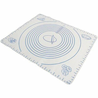 Norpro Pastry Mat Silicone Baking Sheet Liner W/ Measuring Pie Crust Dough