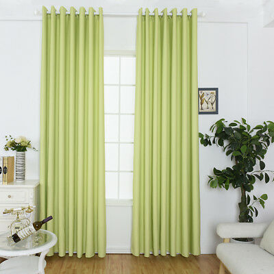 Window Curtain Drapery Door Screen Panel for Living Room Bedroom Balcony Decor