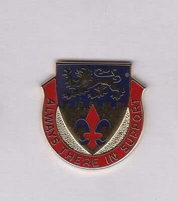 US Army 105th Personnel Services Battalion PSB crest DUI badge G-23