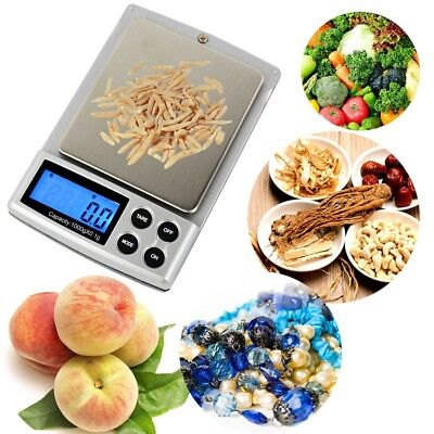Digital LCD Scale Electronic Balance Weighing Jewelry Pocket Gram 1kg/500g