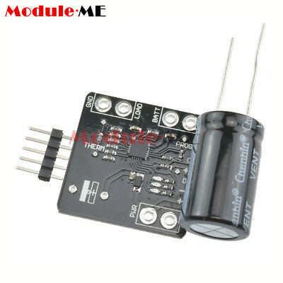 USB MCP73871 3.7/4.2V Battery Solar Lipoly Lithium Lon Polymer Charger  Module