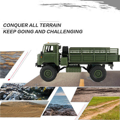 WPL B-24 1:16 RTR 2.4G 4WD RC Military Truck Remote Off-Road Car Crawler Gift