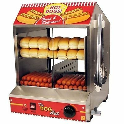 Original Made in USA,Commercial Quality, Hot Dog Steame, - Electric Hotdog Maker