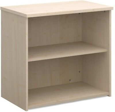 Standard bookcase 740mm high in maple