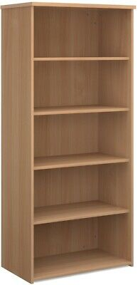 Standard bookcase 1790mm high in beech