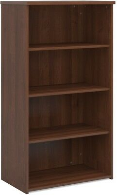 Standard bookcase 1440mm high in walnut