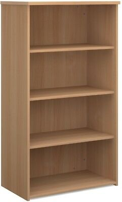Standard bookcase 1440mm high in beech
