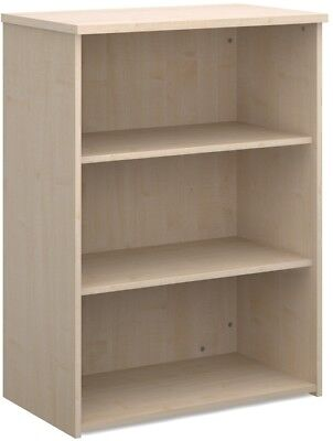 Standard bookcase 1090mm high in maple
