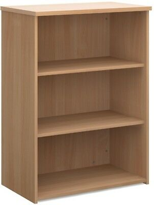 Standard bookcase 1090mm high in beech