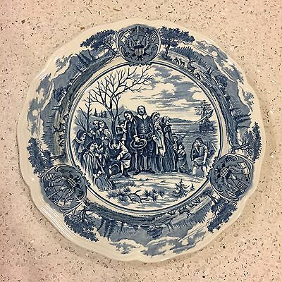 J&G Meakin American Hurrah Series English Ironstone Plate - Collectible Antique