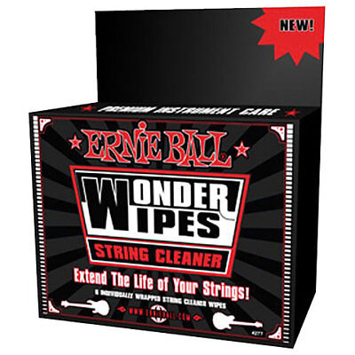 Pflegemittel Gitarre/Bass Ernie Ball Wonder Wipes EB4277 Gitarrenpflege Reinigun