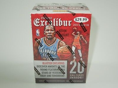 Panini NBA Basketball Excalibur 2015-2016 Blaster Box NEU OVP