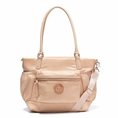 Authentic Mimco SPLENDIOSA BABY Nappy BAG PANCAKE Rose Gold Duffle RRP$299