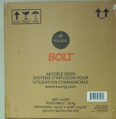Keurig Bolt Commercial Coffee Makers (BRAND NEW) Unopened