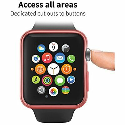 Apple Watch Case Cover 42 Mm IWatch Protective Shell Bumper Face Plates 20 Pack