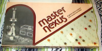 Master Nexus Board Game, Argyle House, 1967, *SEALED*