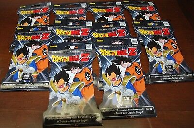 lot of 10 packs of Dragon Ball Z -- 2014 Trading Card Game 12 Cards per pack