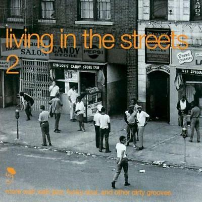 LIVING IN THE STREETS VOLUME 2 Various NEW & SEALED FUNK SOUL JAZZ CD (BGP)
