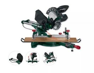 Parkside Sliding Cross Cut Mitre Saw Pzks 1500 B2