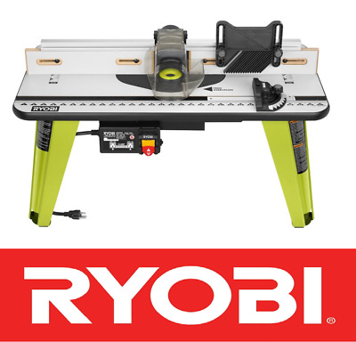 Craftsman 925471 deluxe router table brand new made in usa box new ryobi universal router table wood working tool adjustable fence a25rt03 nib keyboard keysfo Choice Image