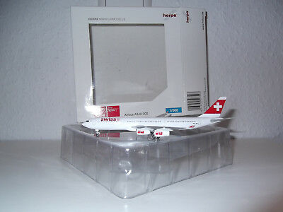 Herpa Wings Swiss Airlines A340 HB-JMI 1:500 Airbus A 340-300 507493