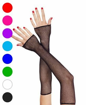 Extra Long Fingerless Gloves - Music Legs 440