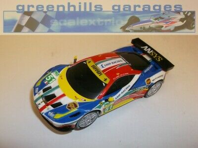 Greenhills Carrera Go!!! Ferrari F430 SMP Racing No 51 1:43 SCALE - NEW  - 19494