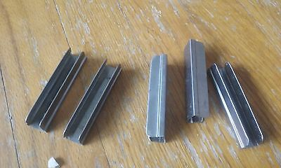 5 Original Mosin Nagant rifle stripper clips 7.62x54R C84