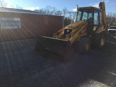 2005 JCB 214E 4x4 Tractor Loader Backhoe w/ Cab & Extend-A-Hoe!