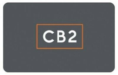 $220 in CB2 Rewards Certificates, 11x $20 (NOT VALID AT CRATE & BARREL)