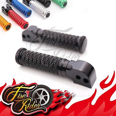 CNC Anti-slip Black Rear Foot Pegs Fit Yamaha Tmax 500 08-11 08 09 10 11